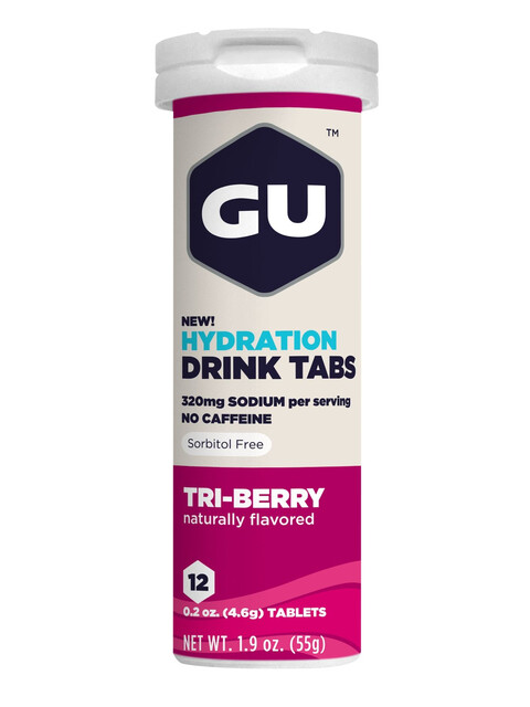 GU Energy Hydration Drink Tabs 12 Pieces Triberry
